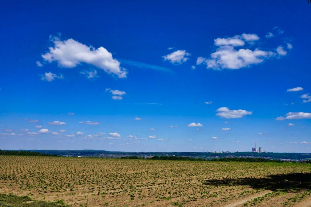 Weitblick über die Landschaft